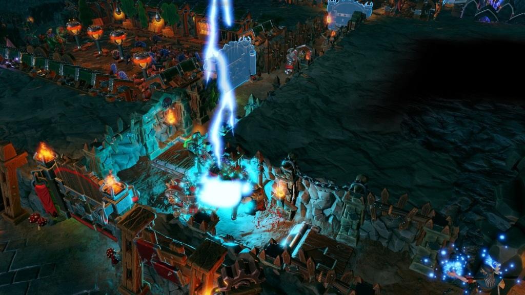 Dungeons 3; Wallpaper: kouzlo blesk