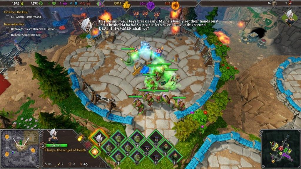 Dungeons 3; Gameplay: souboj, útok