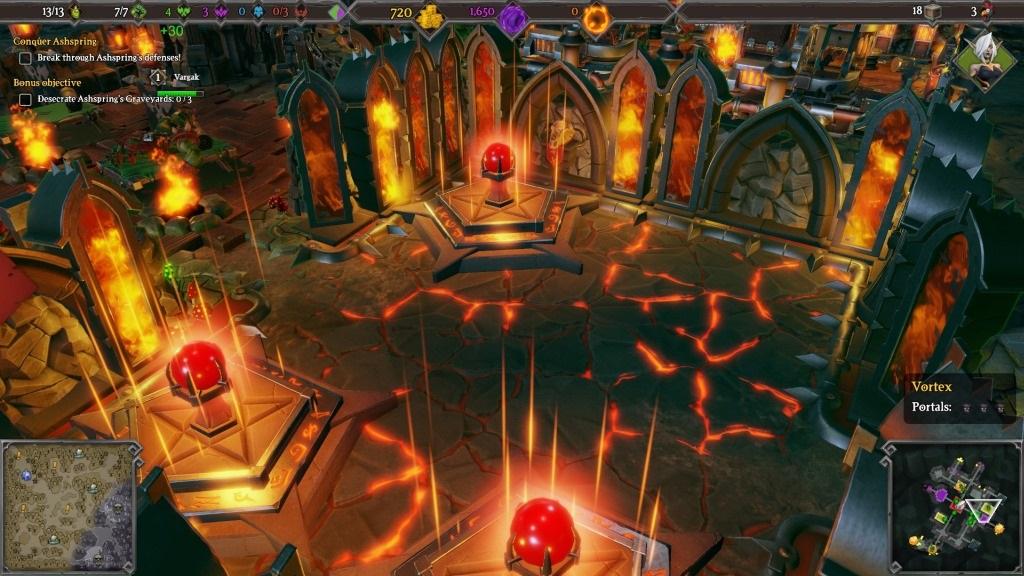 Dungeons 3; Gameplay: svatyně