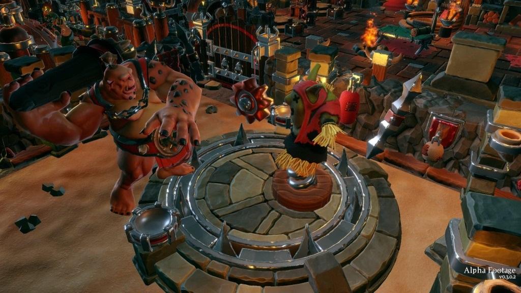 Dungeons 3; Wallpaper: velký Ogr, trainning dummy