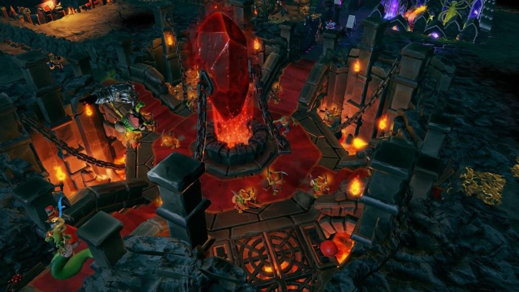 Dungeons 3; Wallpaper: srdce kobky