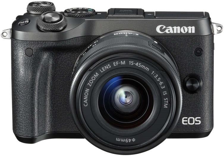 Canon EOS M6 fotoaparát