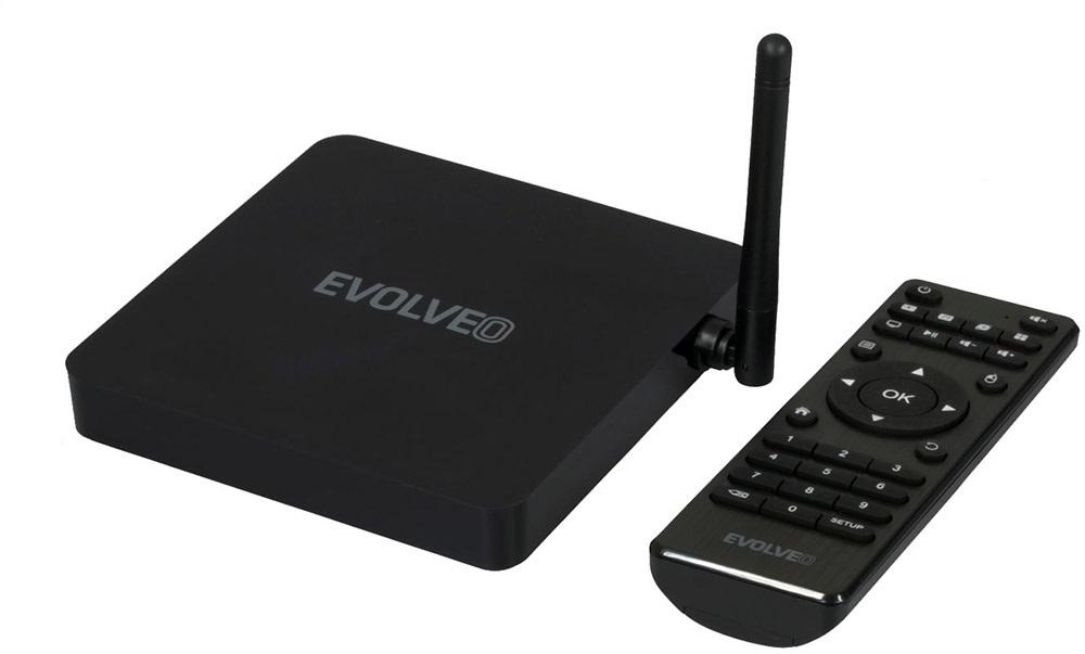 EVOLVEO Android Box H4 Plus, dálkový ovladač
