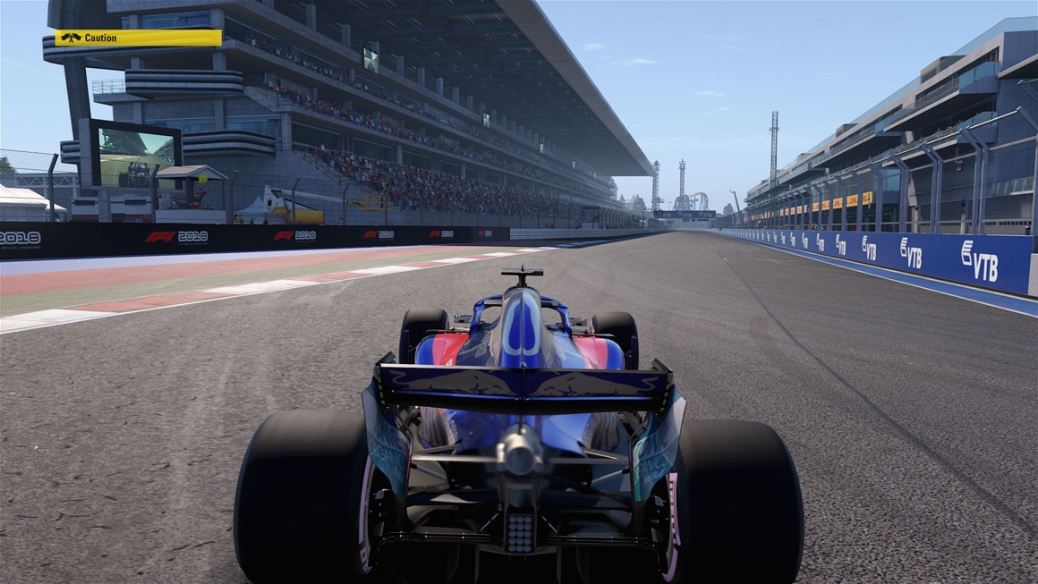 F1 2018 - Ambient Occlusion