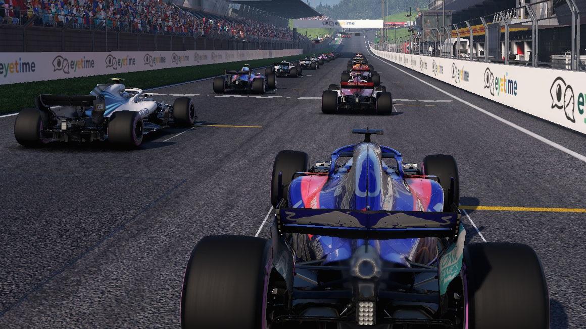 F1 2018 - kvalita obrazu AMD