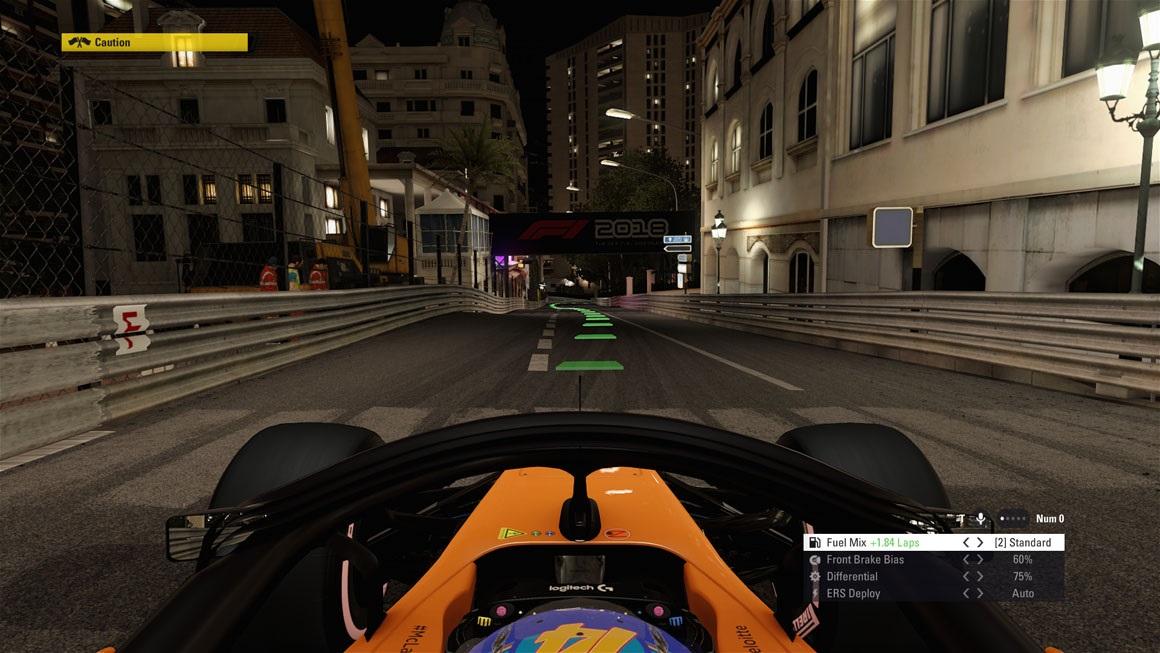 F1 2018 - Lighting Quality