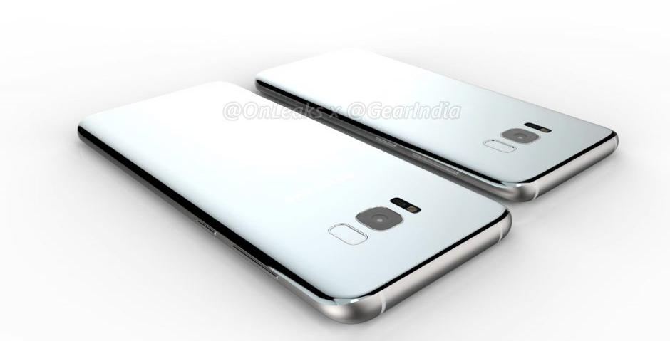 Samsung Galaxy S8, zadní strana