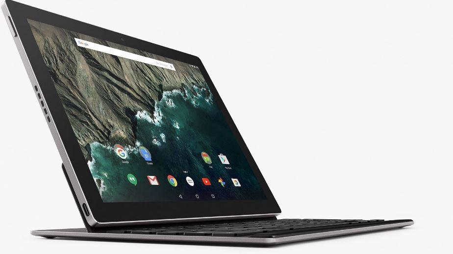Google Pixel C; klávesnice