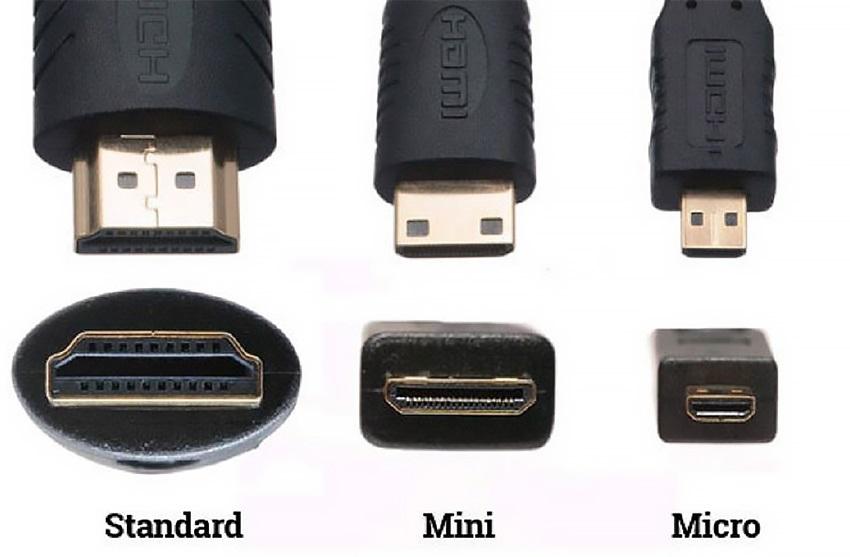 druhy HDMI