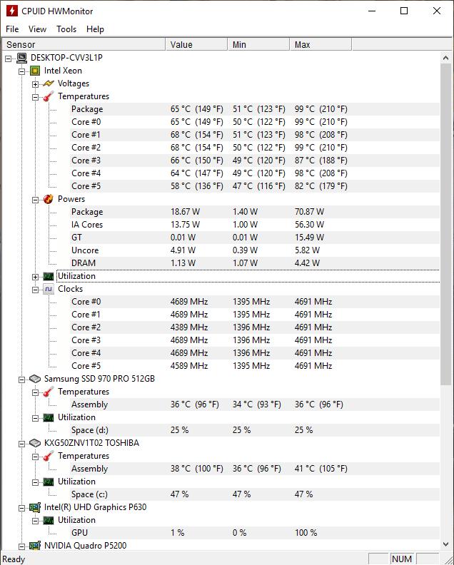 ZBook17G5; Info; Baterie