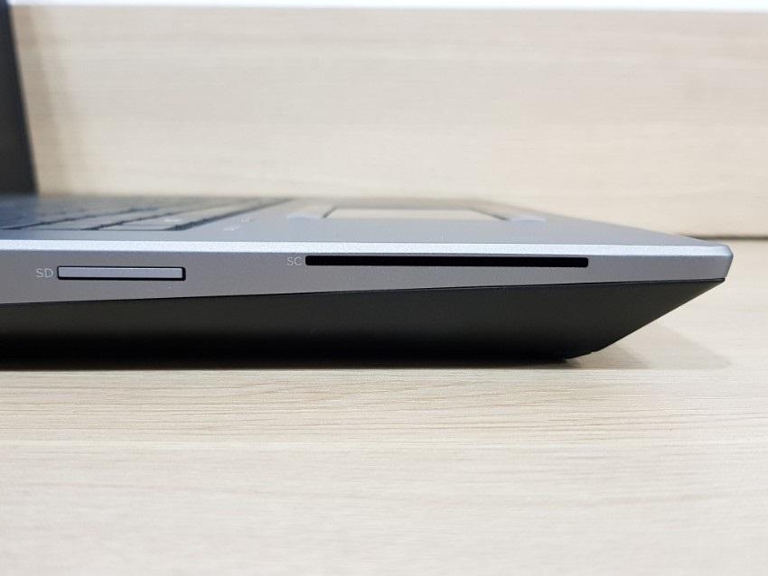 ZBook17G5; čtečky čipových karet