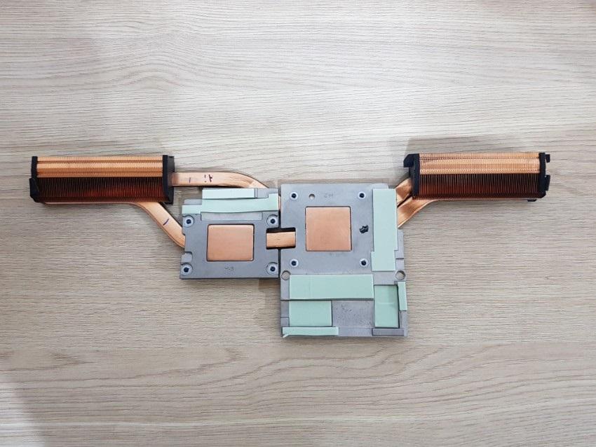 ZBook17G5; Heatsink
