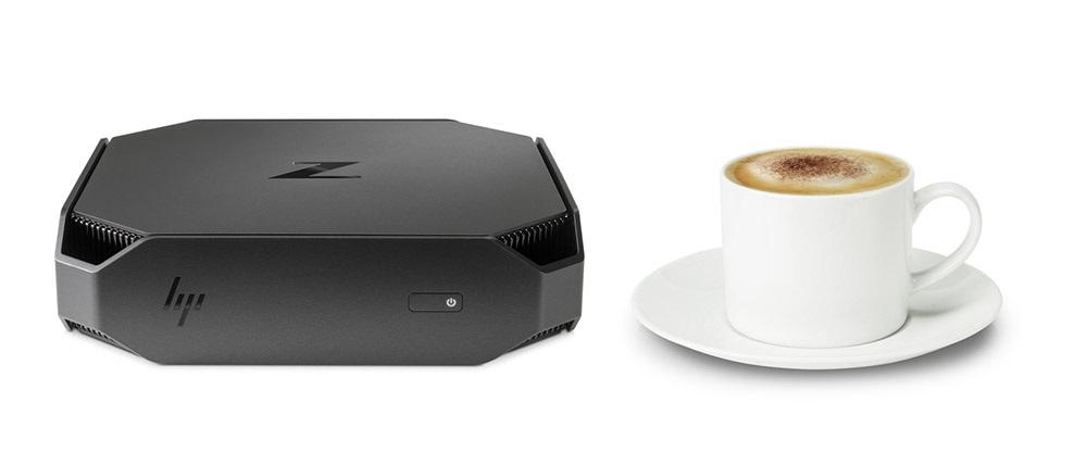 HP Z2 Mini; rozměry