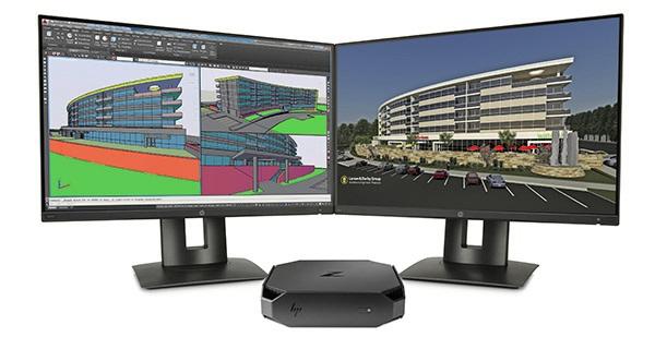 HP Z2 Mini je výkonná pracovní stanice v mini balení