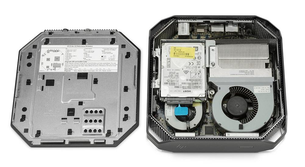 HP Z2 Mini, hardware