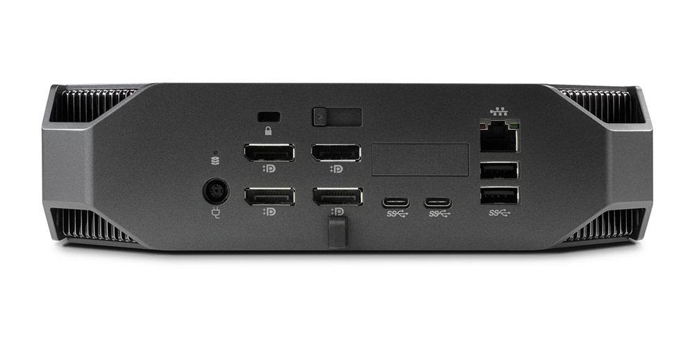 HP Z2 Mini; konektory; USB-C