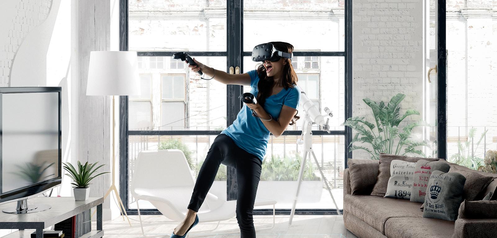 HTC Vive – headset pro VR