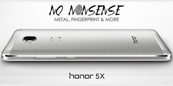 Mobilní telefon Honor 5X - potěší vzhledem, hardwarem i cenou