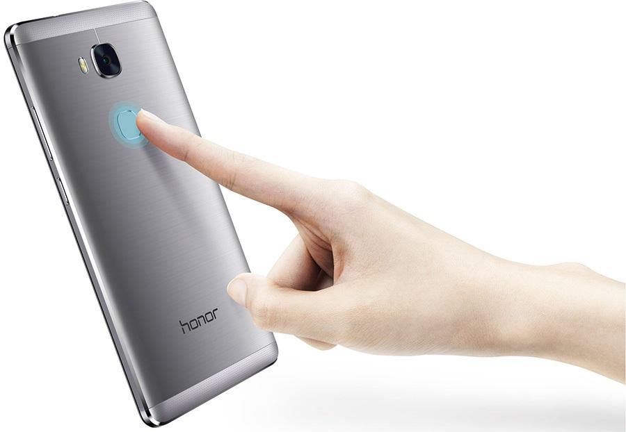 Mobilní telefon Honor 5X - čtečka otisků prstů