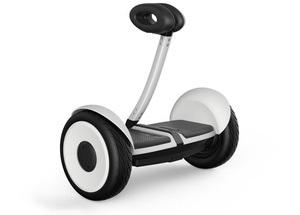 Hoverboard s řídící týčí
