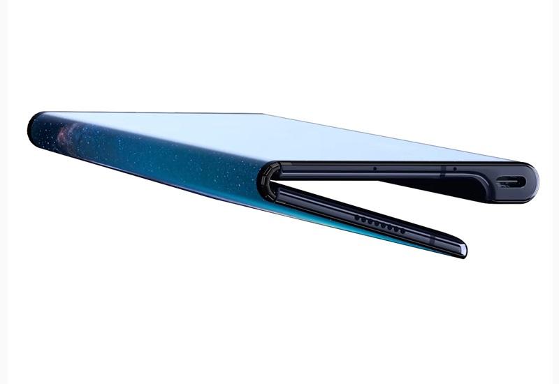 Huawei Mate X, složený