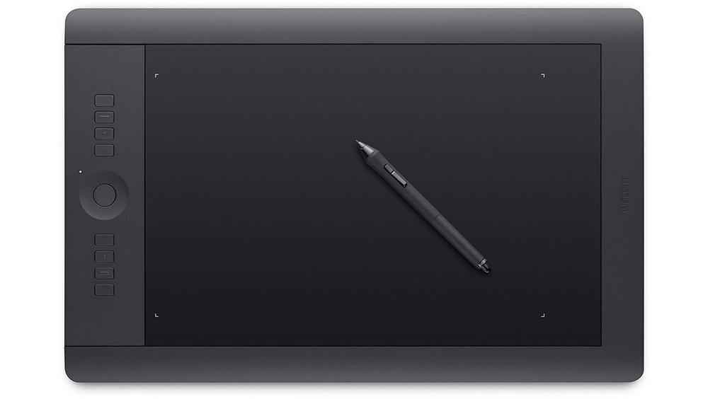 Wacom Intuos Pro S, M, L, 2048 úrovní přítlaku, programovatelná tlačítka