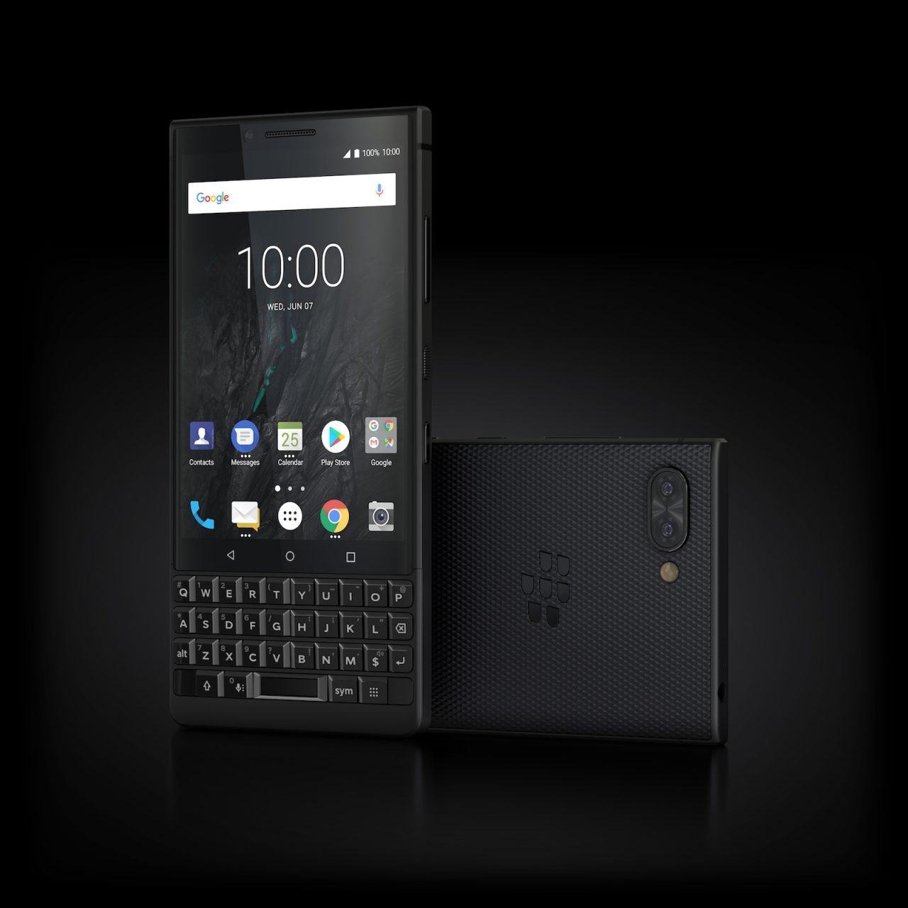 BlackBerry KEY2, černý