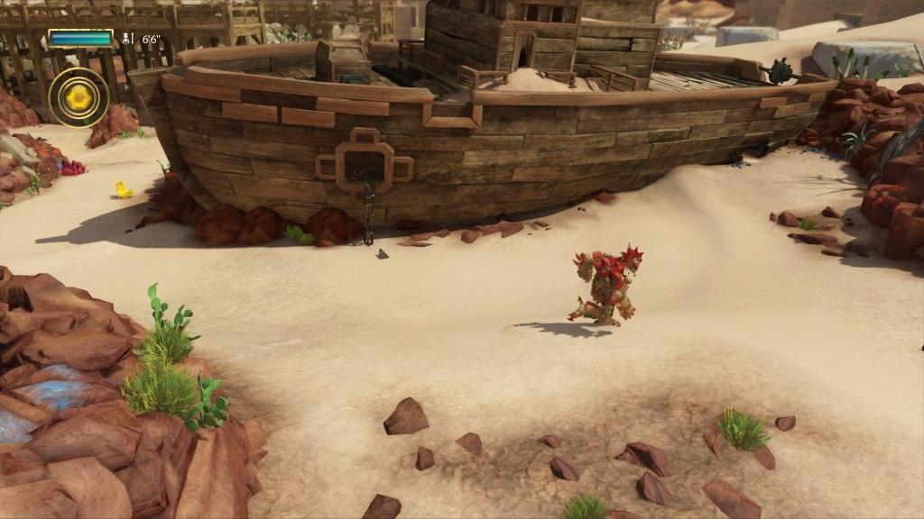 Knack 2; Gameplay: poustni lokace, hrdina