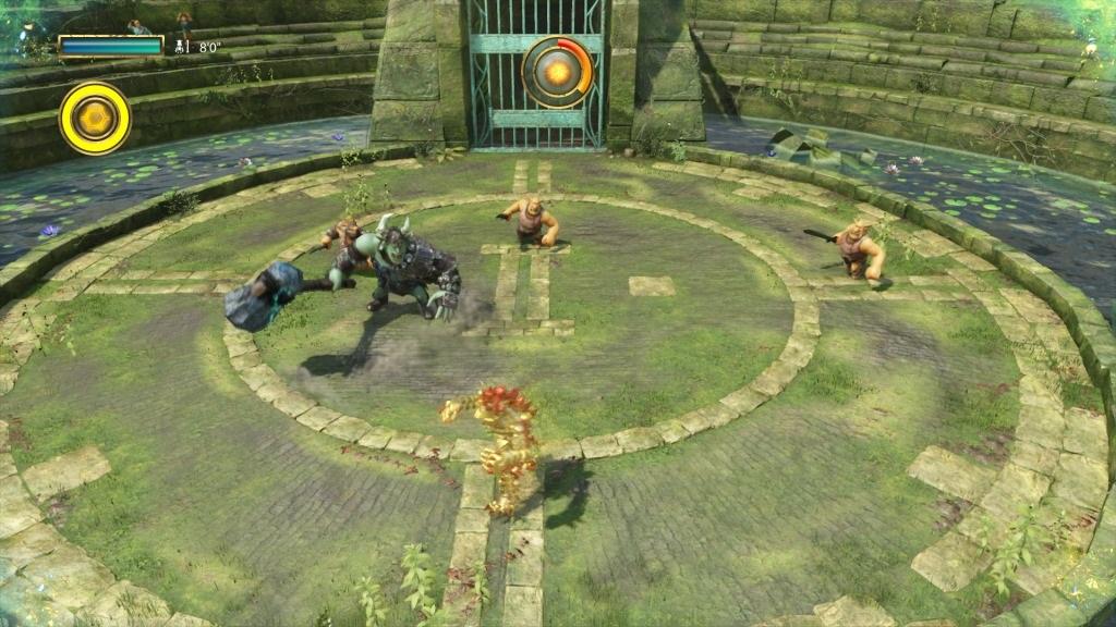 Knack 2; Gameplay: hrdina, souboj, nepritel, goblin