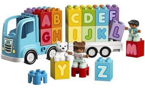 LEGO DUPLO Můj první náklaďák s abecedou