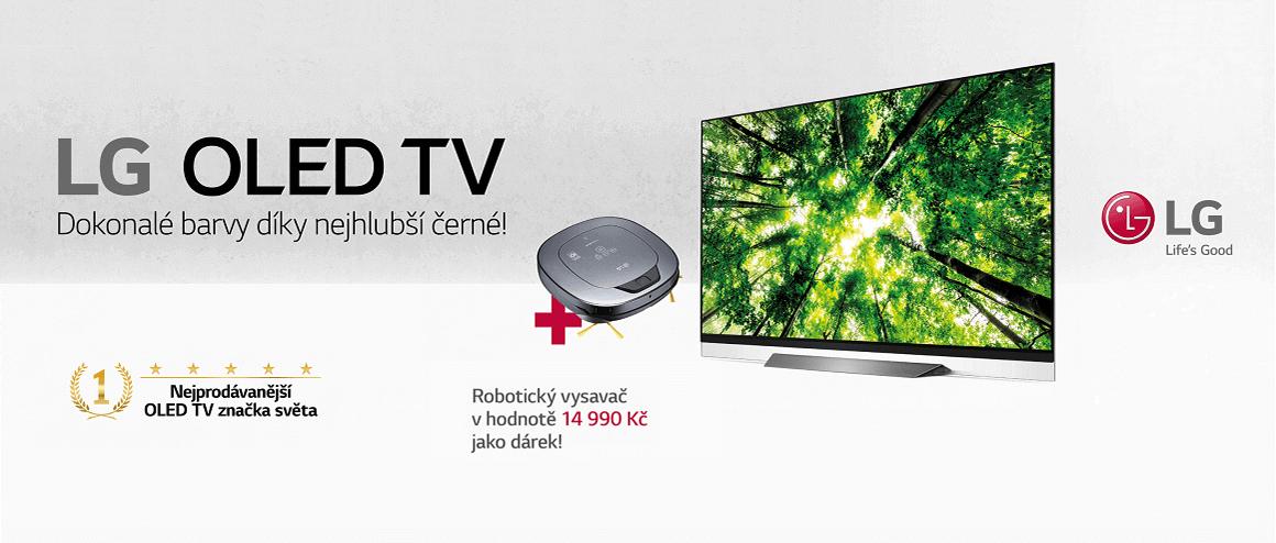 Akce LG OLED TV s dárkem