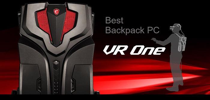 MSI VR One Backpack je herní PC v batohu