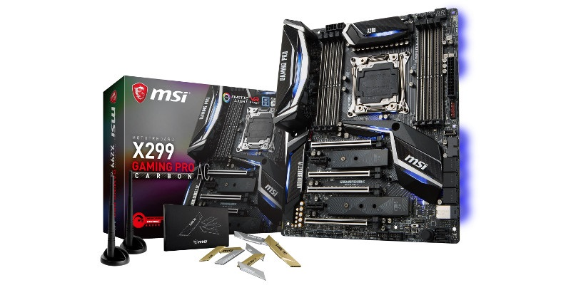 MSI X299 GAMING PRO CARBON AC (RECENZE A TESTY)