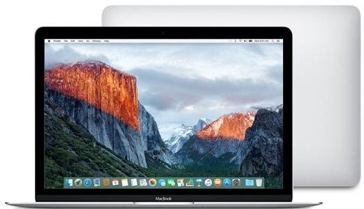 MacBook ve stříbrné barvě