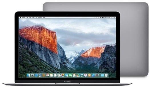 MacBook vesmírně šedý