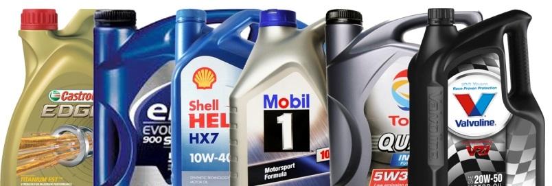 Motorové oleje mobil castrol shell vavoline total