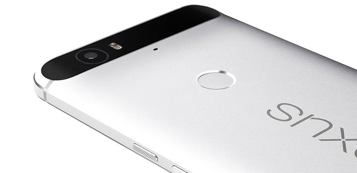 Huawei Nexus 6P – čtečka otisků prstů