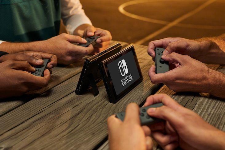 Nintendo Switch multiplayer více hráčů spárování