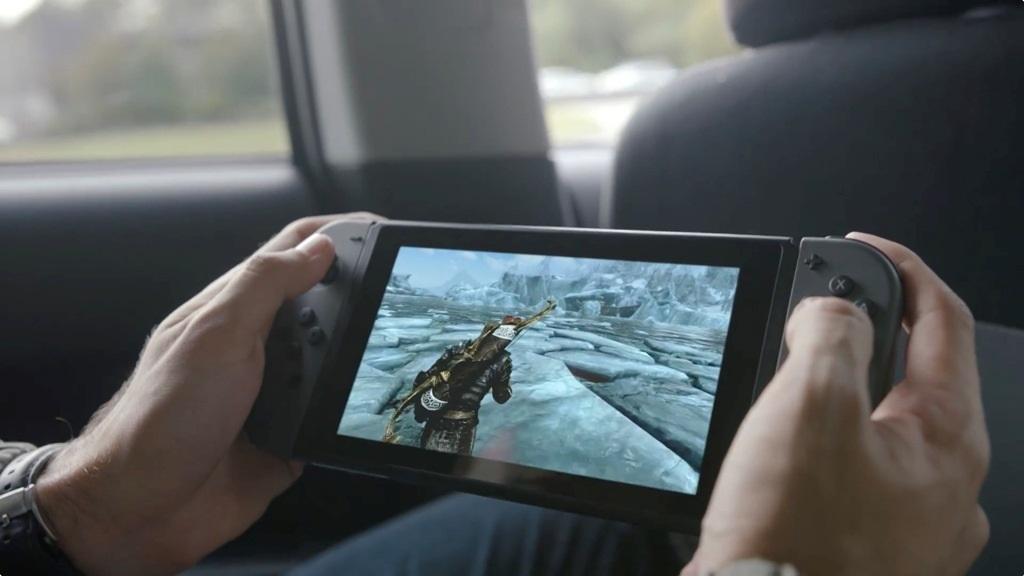 Nintendo Switch herní konzole na cesty přenosná
