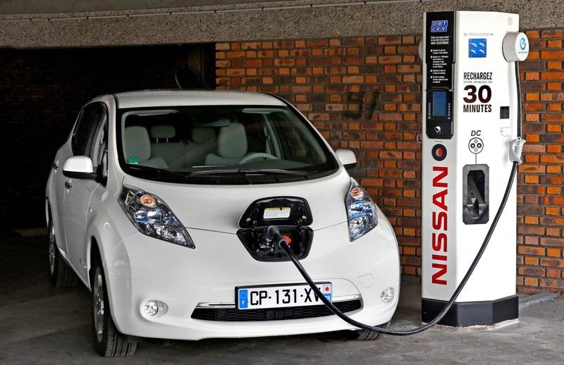 Elektromobil Nissan Leaf