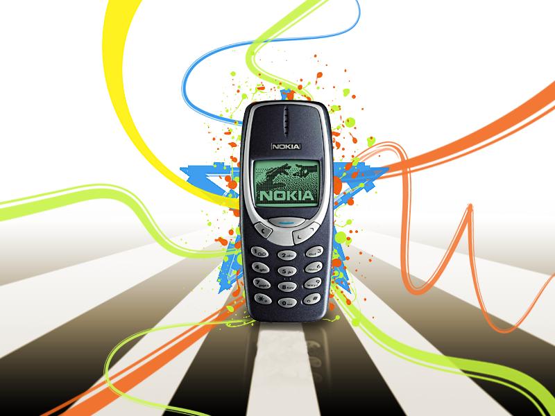Nokia 3310, odolný telefon, vyměnitelný zadní a přední kryt, bez fotoaparátu, černobílý displej, dlouhá výdrž baterie