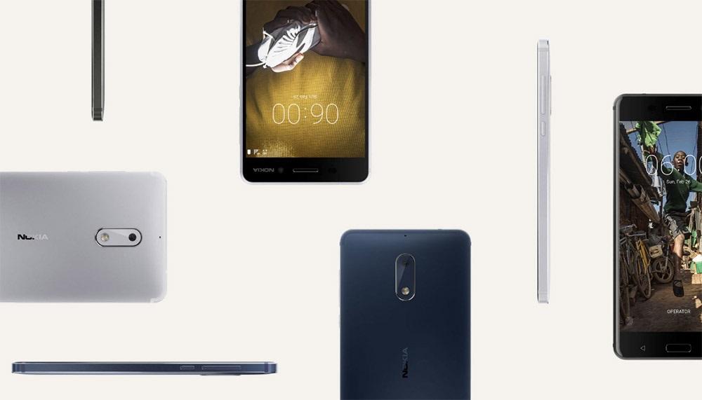 Nokia 6, IPS displej, hliníková záda