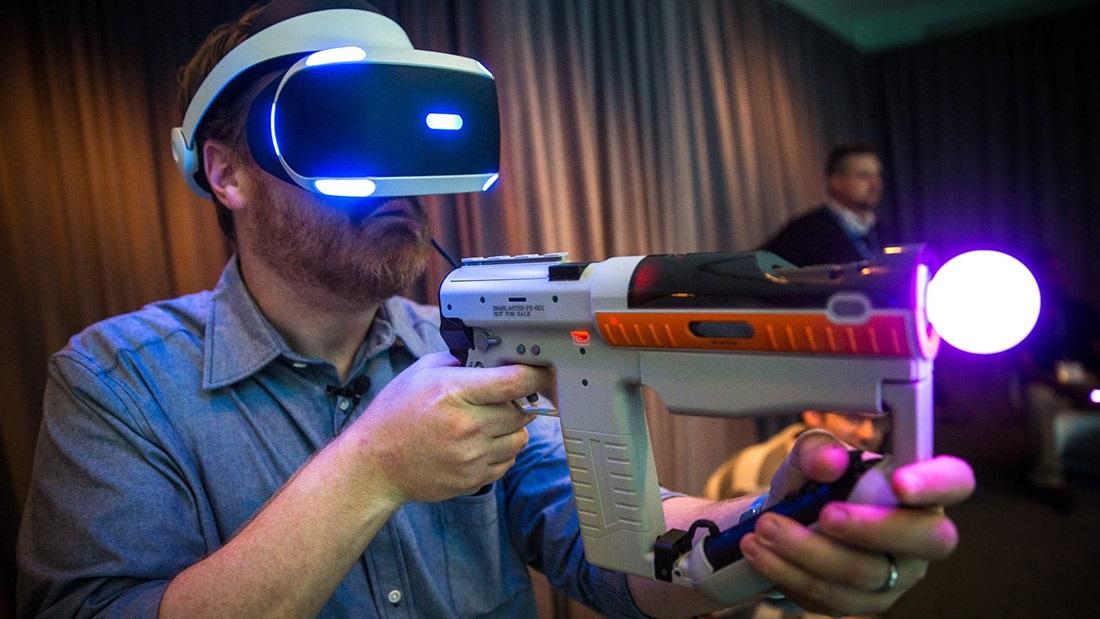 Herní příslušenství pro VR
