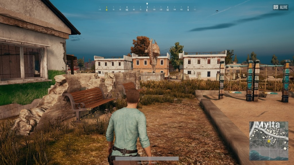 PlayerUnknown's Battlegrounds; Gameplay: third person