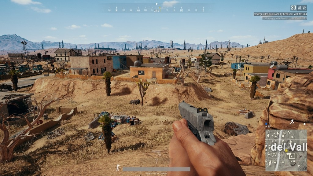 PlayerUnknown's Battlegrounds; Gameplay: městečko