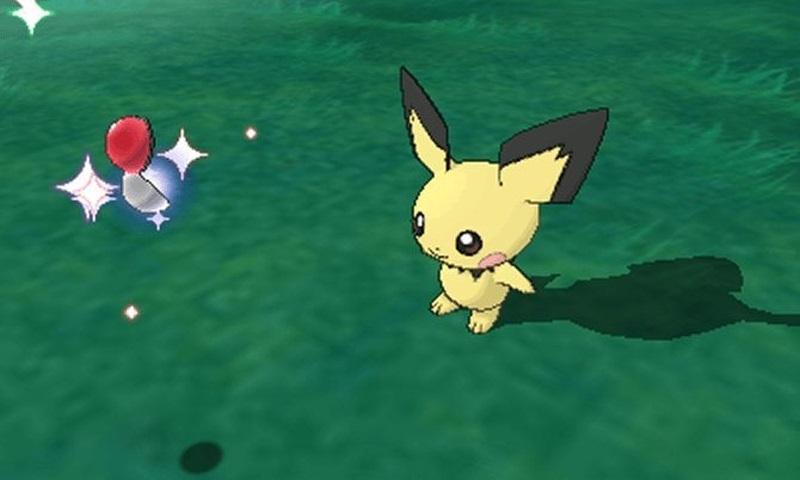 Pokémon Ultra Sun and Ultra Moon; Gameply: chytání pokémona, Eevee