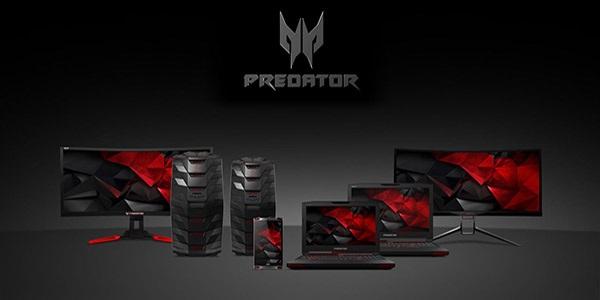 Acer Predator - vymazlené herní notebooky, PC, monitory a další