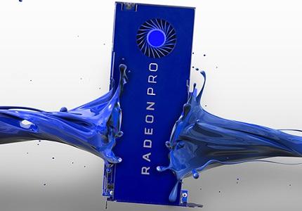 Profesionální grafická karta AMD Radeon FirePro