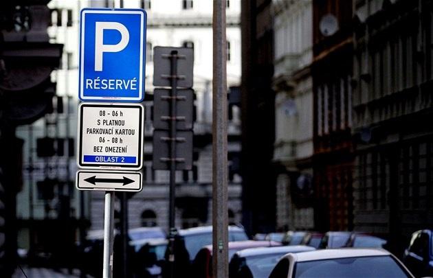 Rezidentní parkování Praha