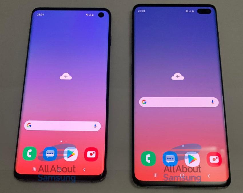 Samsung Galaxy S10 a S10+